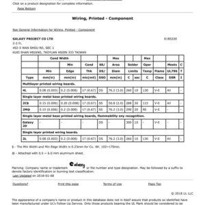 B9-UL證書 E185220